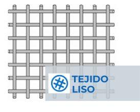Mallas metalicas tejido liso CISA SIEVING TECHNOLOGIES
