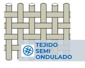 tejido semiondulado CISA sieving technologies Barcelona