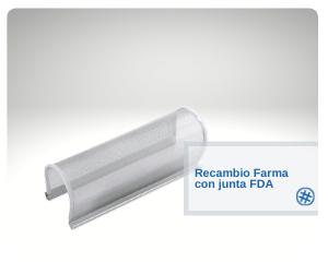 Recambio Farma con junta FDA